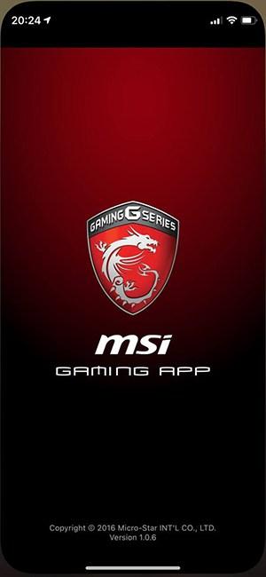 MSI-app-opening
