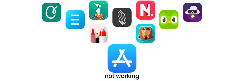 app-store-not-working