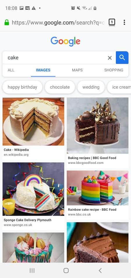 cake-search-google