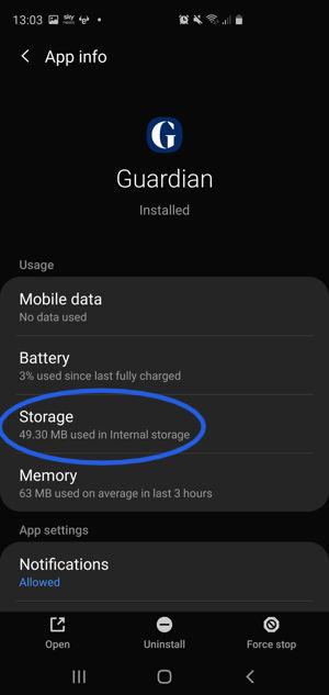 guardian-app-settings