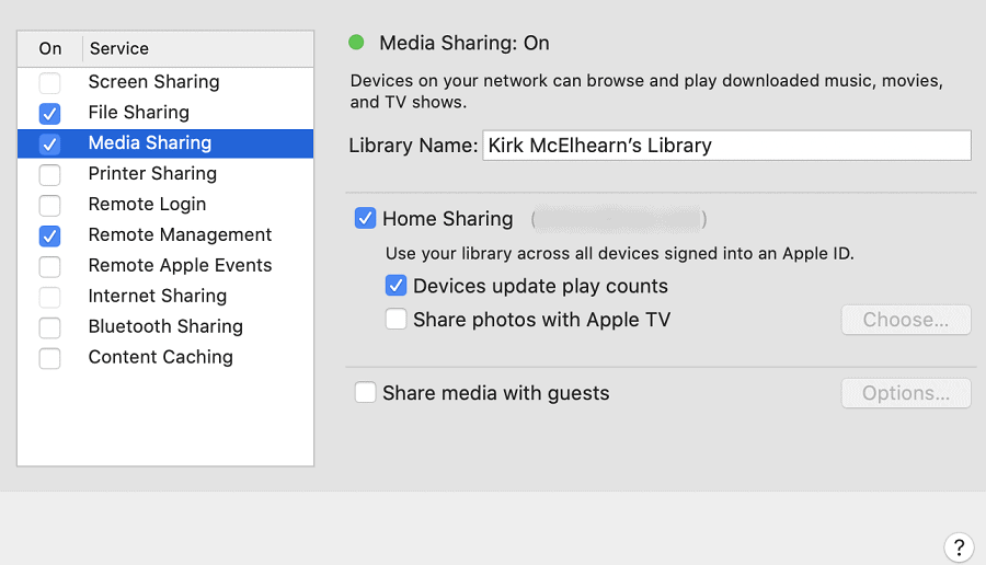 home-sharing-settings