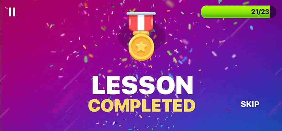 lesson-completed