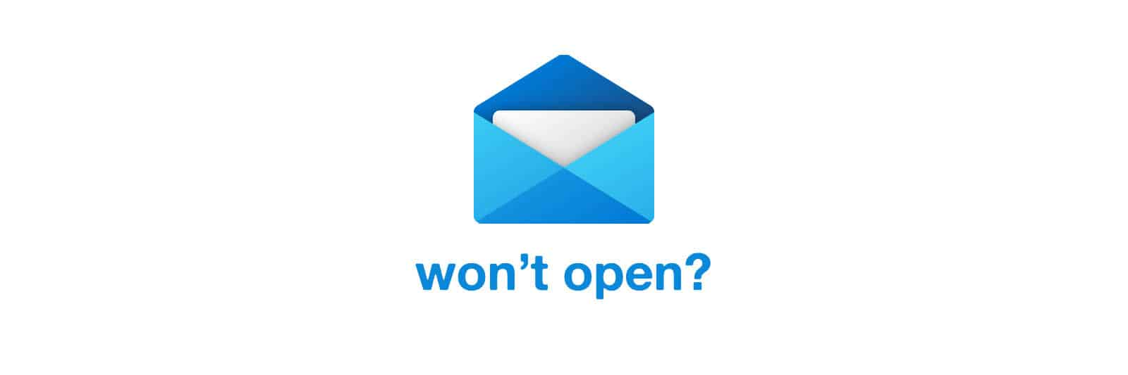 mail-wont-open