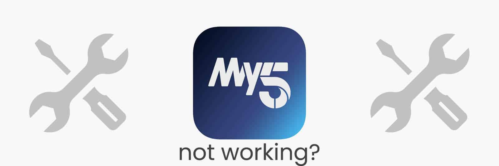 my-5-app-not-working