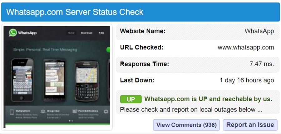 whatsapp-server-status
