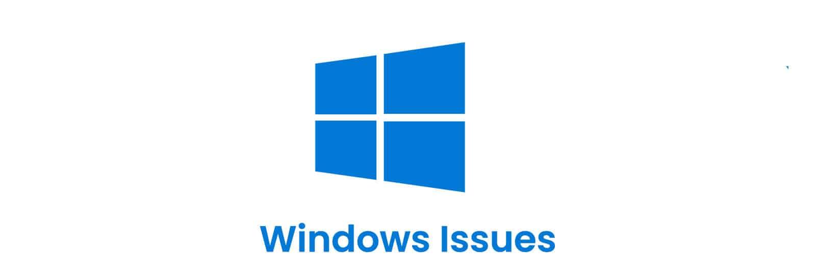 windows-issues