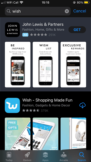 wish-app-search